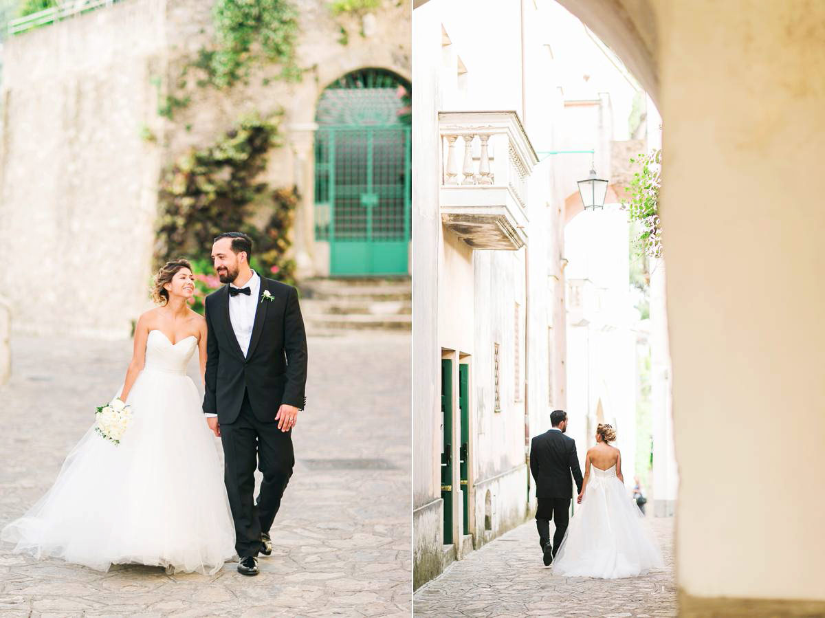 Amalfi coast wedding Belmond hotel