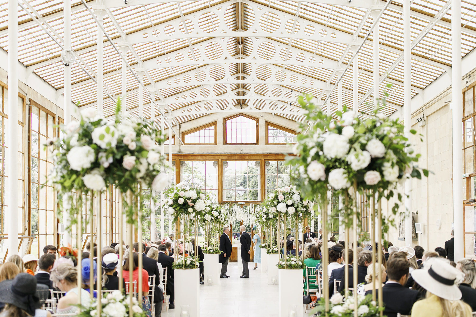 wedding at kew gardens